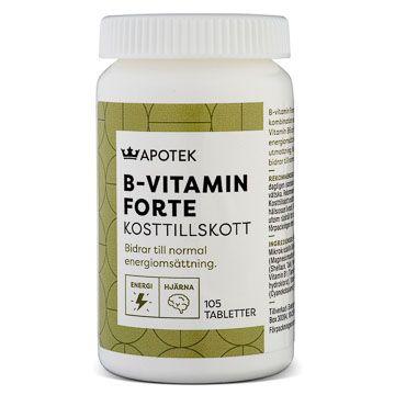 Kronans Apotek B-vitamin Forte 105 tabletter