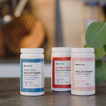 Kronans Apotek Multivitamin Kvinna 105 tabletter