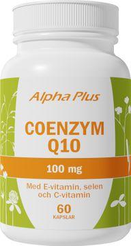 Alpha Plus Coenzym Q10 10 0mg 60 Kapslar