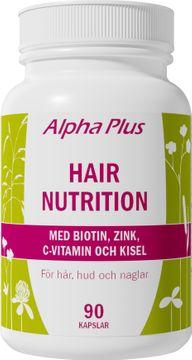 Alpha Plus Hair Nutrition Kapsel, 90 st