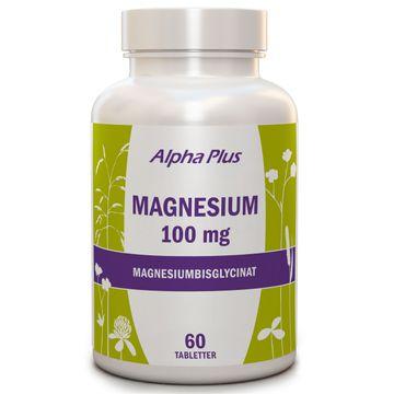 Alpha Plus Magnesium 100 mg Tabletter, 60 st