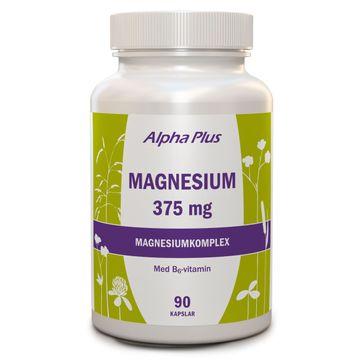 Alpha Plus Magnesium 375 mg 90 Kapslar