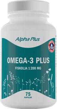 Alpha Plus Omega-3 Plus 75 Kapslar