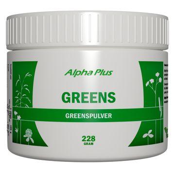 Alpha Plus Greens Pulver, 228 g