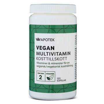 Kronans Apotek Multivitamin Vegan/Vegetarian 120 tabletter