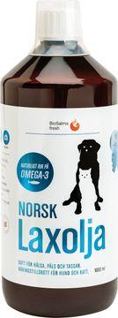 Norsk Laxolja Hund och Katt 1000 ml