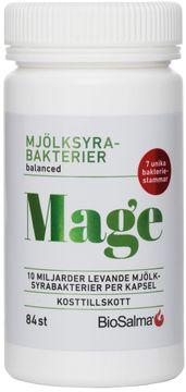 Biosalma Mage Mjölksyrabakterier Kapsel, 84 st