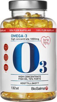Biosalma Omega3 Forte 70% 132 kapslar