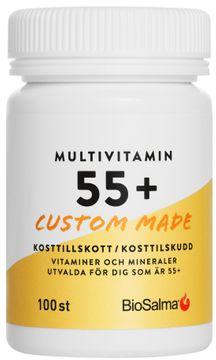 Biosalma Multivitamin 55+ 100 tabletter
