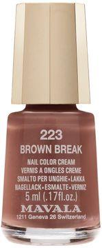 Mavala Minilack Brown Break Nagellack. 5 ml