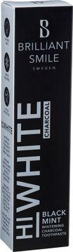 Brilliant Smile Black Mint HiWhite Charcoal. Whitening tandkräm. 65 ml