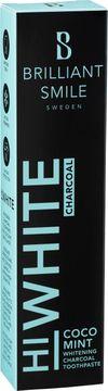 Brilliant Smile Coco Mint HiWhite Charcoal. Whitening tandkräm. 65 ml