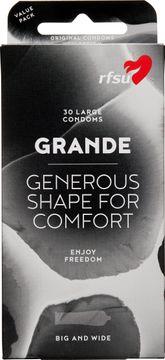 RFSU Grande Tunna och större kondomer. 30 st