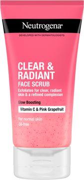 Neutrogena Refreshingly Clear Exfoliator Ansiktsskrubb, 150 ml
