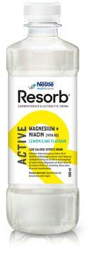 Resorb Active Lemon Lime Funktionsdryck, 500 ml