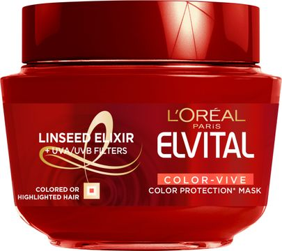 Elvital Color-Vive Treatment Mask Hårinpackning. 300 ml