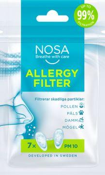NOSA Allergy Filter Näsfilter, 7 st