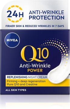 Nivea Q10 Power Night Cream Nattkräm. 50 ml