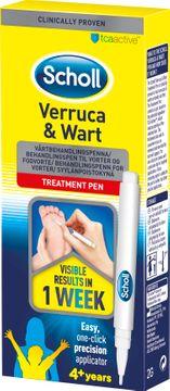 Scholl Treatment Pen Vårtbehandlingspenna för hand och fot. 2 ml