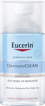 Eucerin Dermatoclean Eye Make-up Remover Sminkborttagning, 125 ml