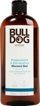 Bulldog Peppermint & Eucalyptus Shower Gel Duschgel med doft av mint. 500 ml