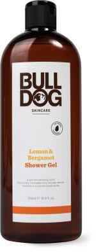 Bulldog Lemon & Bergamot Shower Gel Duschgel med lukt av citrus. 500 ml