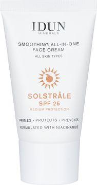 IDUN Minerals Solstråle All-in-One Face Cream SPF 25 Ansiktskräm, 30 ml