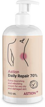 Astion Daily Repair 70% Hudkräm för torr hud. 500 ml