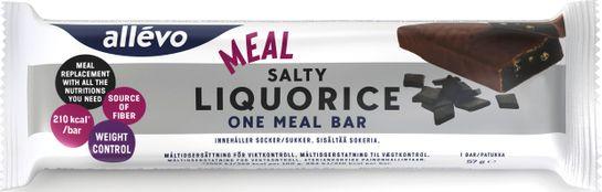 Allévo One Meal Salty Liquorice Måltidsersättning, 57 g
