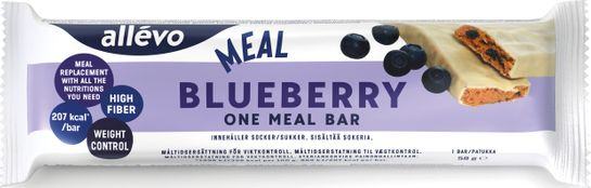 Allévo One Meal Blueberry Måltidsersättning, 58 g
