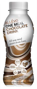 Allévo One Meal Chocolate Drink Måltidsersättning, 330 ml