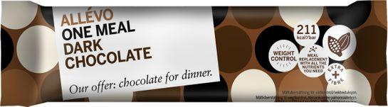 Allévo One Meal Dark Chocolate Måltidsersättning, 57 g