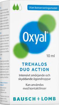 Oxyal Trehalos Duo Action Ögondroppar, 10 ml
