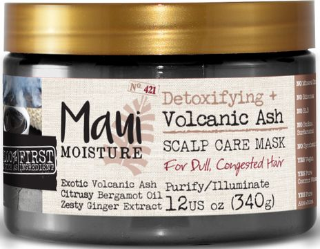 Maui Moisture Volcanic Ash Hair Mask Hårmask, 340 g