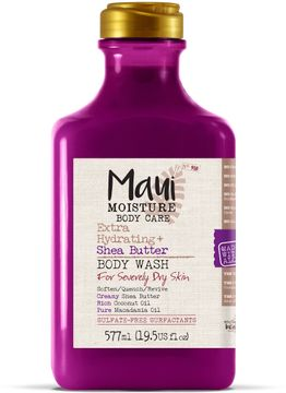 Maui Moisture Shea Butter Body Wash Vegansk duschkräm. 577 ml