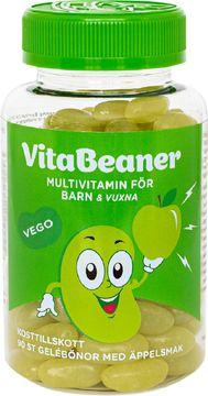 VitaBeaner Äpple Multivitamin för barn och vuxna. 90 st