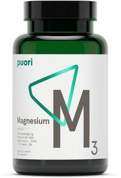 Puori M3 Magnesium & Zink 60 kapslar