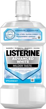 Listerine Advanced White mildare smak Munskölj, 500 ml