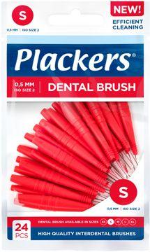 Plackers Dental Brush S 0.5 mm Mellanrumsborste. 24 st