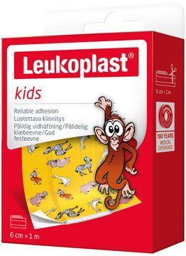 Leukoplast Kids 6cm x 1m Plåster