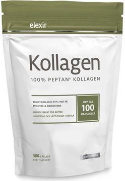 Elexir Pharma Kollagen 100% Peptan kollagen. 500 g