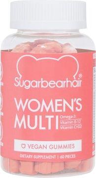 SugarBearHair Women's Multi Veganskt kosttillskott tuggkapslar. 60 st