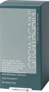 GrowAgain Näringsämnen för hårroten. 60 tabletter