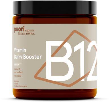 Puori B12 Berry Booster Lättupptagligt B12. 20 stickor
