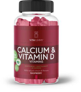 VitaYummy Calcium & Vitamin D Tuggtabletter. 60 st