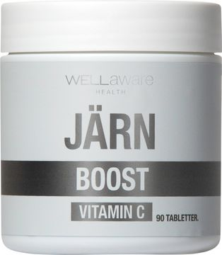 WellAware Järn och Vitamin C Tablett, 90 st