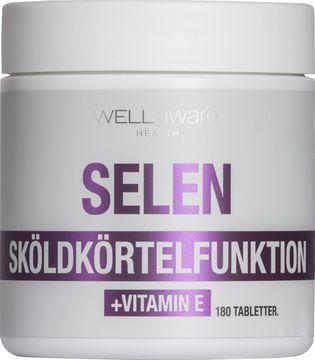 WellAware Selen + Vitamin E 180 st