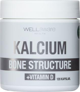 WellAware Kalcium + Vitamin D 120 kapslar