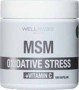 WellAware MSM + Vitamin C 100 kapslar