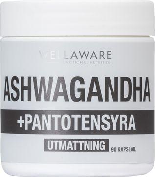 WellAware Ashwaganda + Vitamin B5 90 kapslar